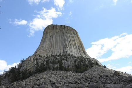 Devil's Tower - the most mysterious rock America