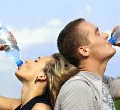 Drinking Water During Sports