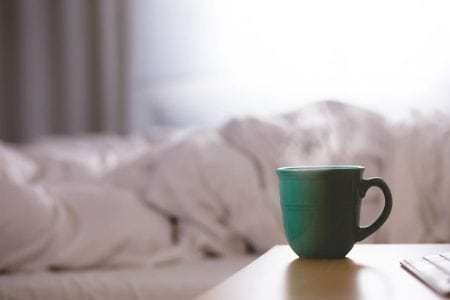 Is it good or bad to drink coffee in the morning once you get up?